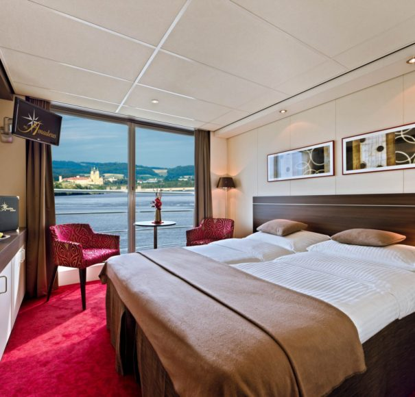 Amadeus Brilliant French Balcony Stateroom