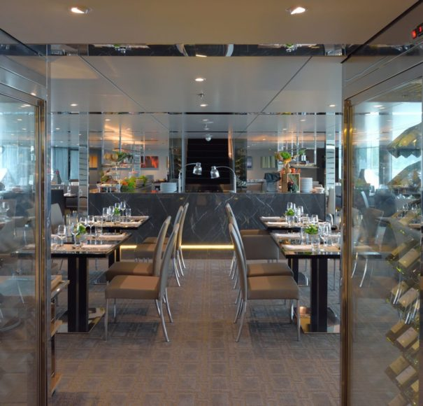 Scenic Azure Crystal Dining
