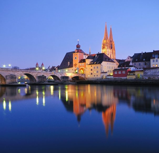 Regensburg at Night