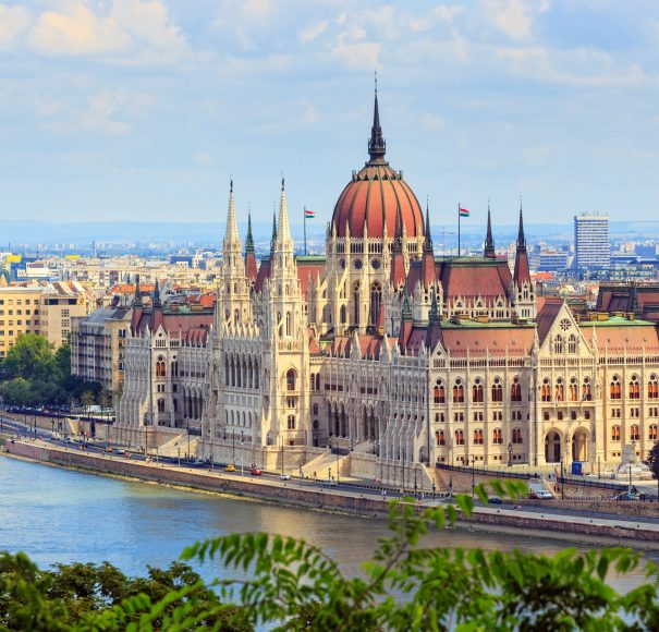 Titan Travel River Cruise Hungarian Parliament Building in Budapest