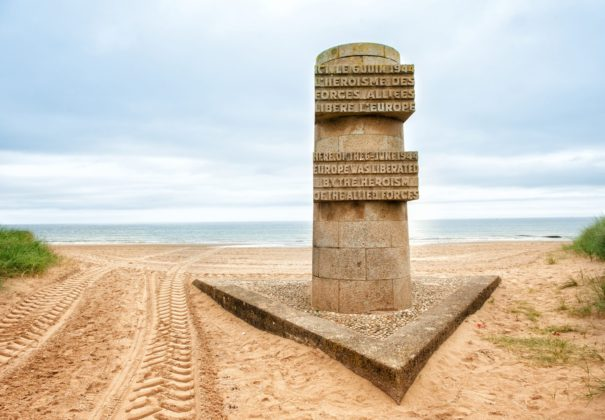 Day 5 -  Normandy Beaches, France