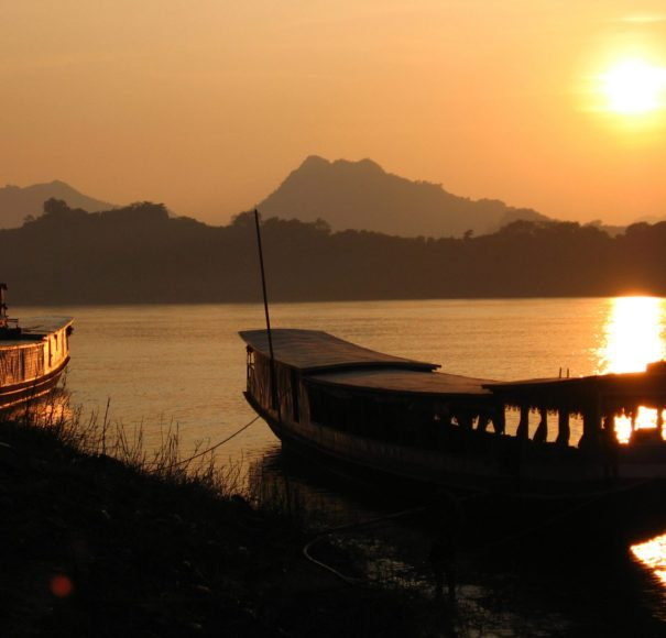 APT Mekong River Cruise - Sunset