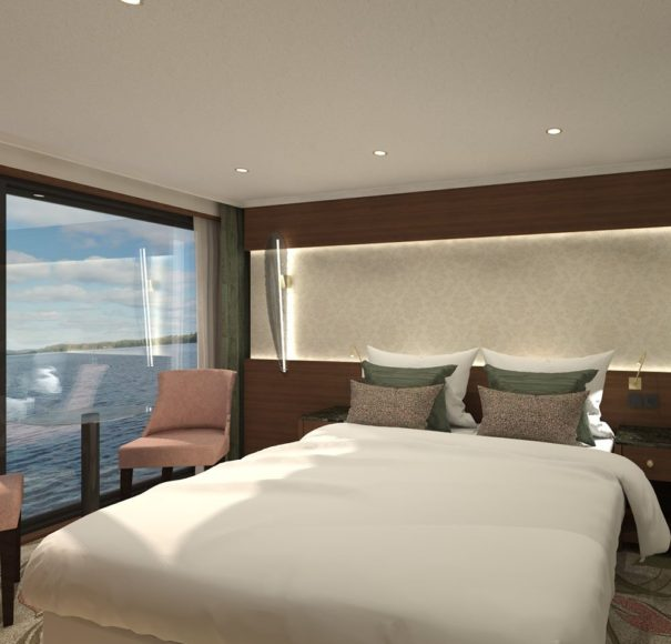 Riviera Travel - MS George Eliot - French Balcony Cabin