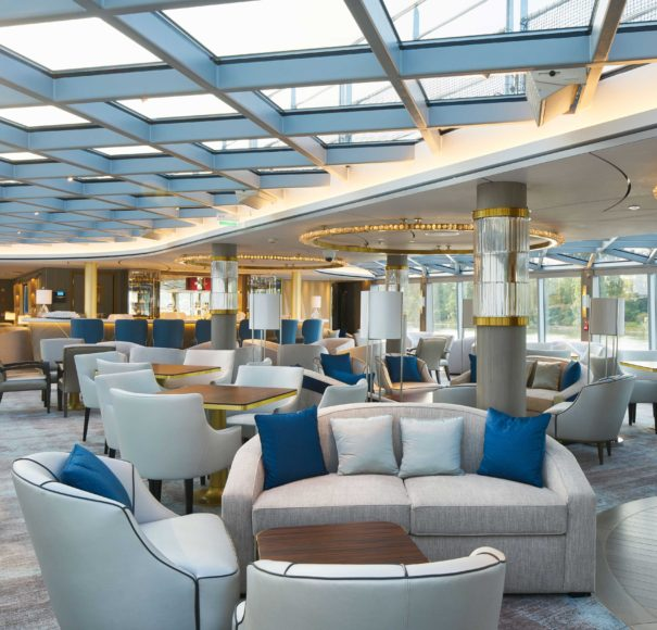 Crystal Rhine Class River Ship Palm Court