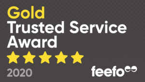 feefo - Gold Trusted Service 2020