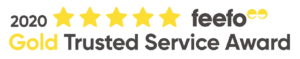 feefo - Gold Trusted Service - 2020